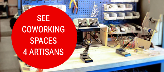 coworking spaces for artisans